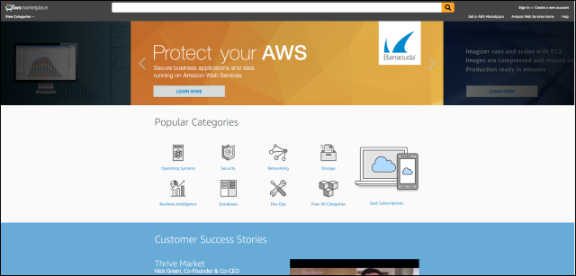 AWS Marketplace Gets a Fresh New Look!