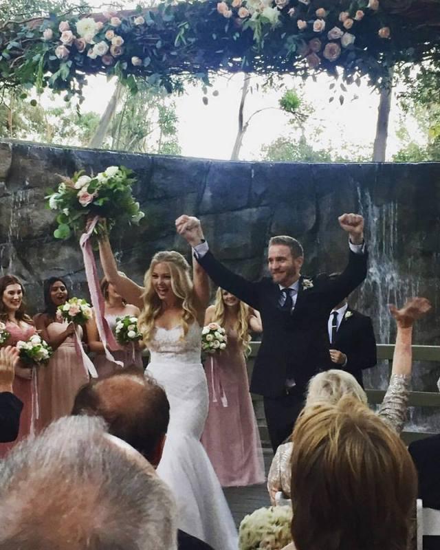 Mr. & Mrs. Bailey Buell Schmidt - she waited ~10 years!!!