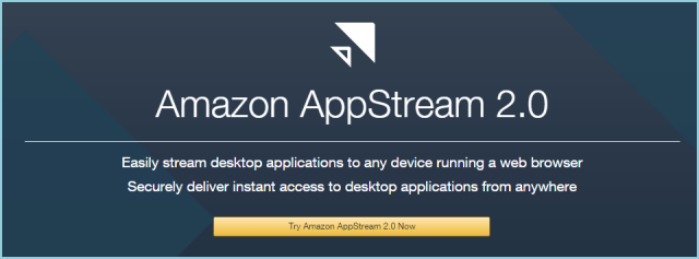Amazon AppStream 2.0