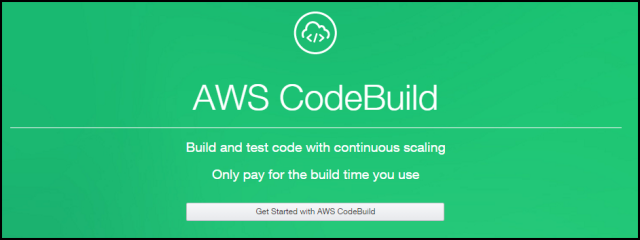 AWS CodeBuild Description Page