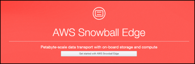 AWS Snowball Edge