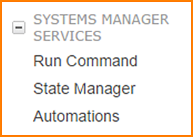 Amazon EC2 Systems Manager in the Amazon EC2 Dashboard