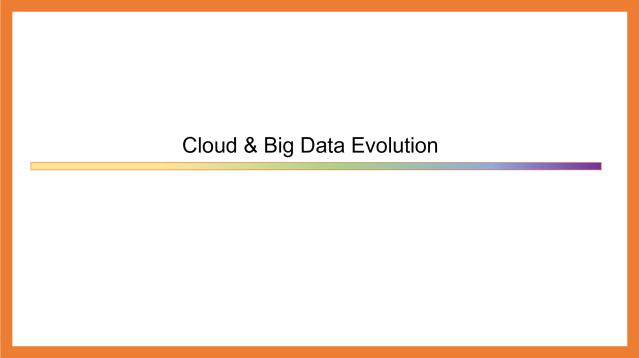 Cloud & Big Data Evolution