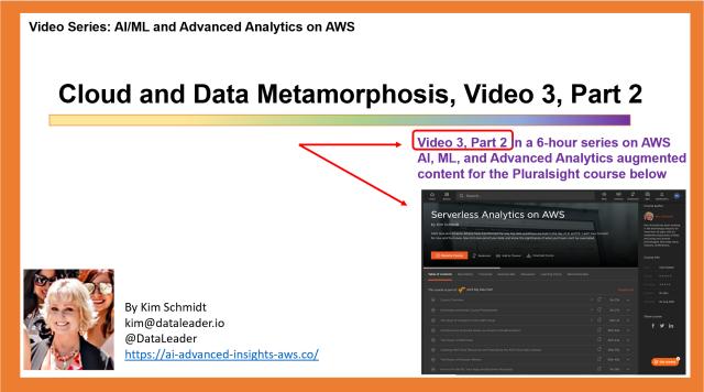Cloud & Data Metamorphosis, Part 2