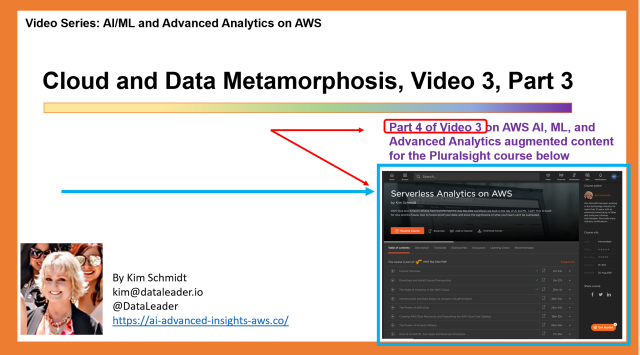 Cloud & Data Metamorphosis, Video 3, Part 3