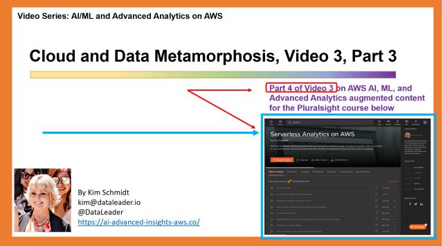 Cloud & Data Metamorphosis, Video 3, Part 3