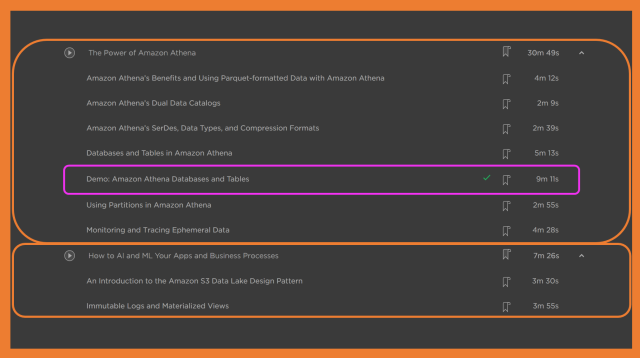 The Last 2 Modules of the Pluralsight Course
