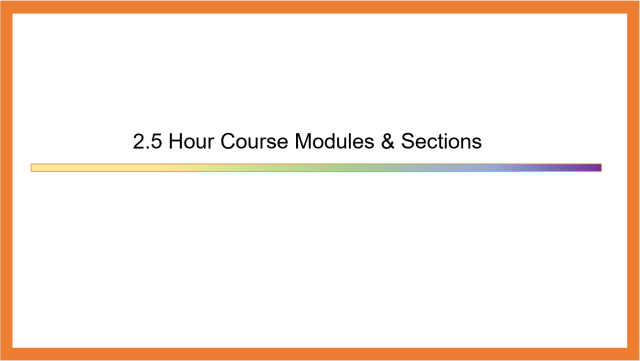 The Entire Table of Contents of the Pluralsight Course
