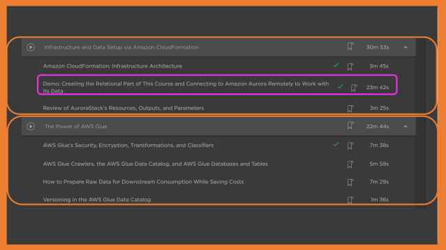Modules 4 & 5 of Pluralsight Course